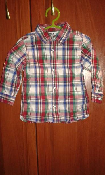 Рубашка состояние очень хороший. размер 09-1,5 года в Бишкек