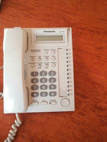 Маленькие-телефоны - Кыргызстан: Мини АТС и Системные телефоны панасоник договорная