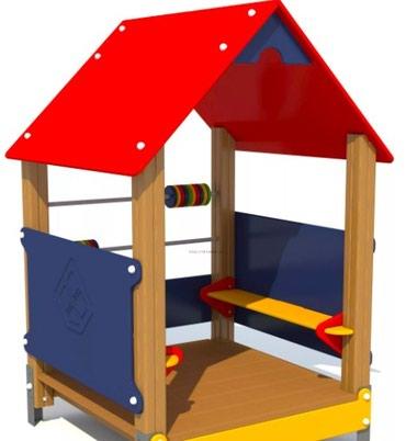 Детский игровой домик Размер: 1200*1200*1500 мм в Бишкек