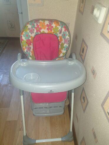 детская коляска с большими колесами в Кыргызстан: Стульчик для кормления в идеальном состоянии