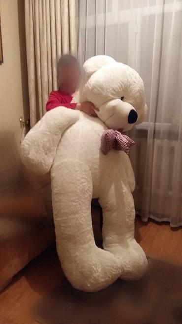 Детский мир - Кара-Кульджа: Продается плюшевая мишка 2,5 метра