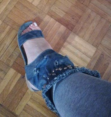 Izuzetne Teksas sandale-cizme malo nošene u odličnom stanju br.37,5 - Batajnica