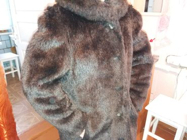 Продаю шубу!!! Теплая, на ватной подкладке, почти новая. Размер 48-50. в Бишкек