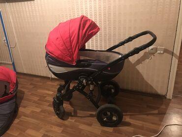 Детский мир - Чон-Таш: Продаю Польшскую коляску б/у 2 в 1, фирмы «Moonlight» В хорошем сост