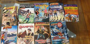 Knjige, časopisi, CD i DVD | Subotica: Razni stripovi