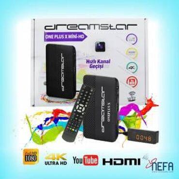 dreamstar iptv box - Azərbaycan: Dreamstar aparat cihazi ile iInternet olan evde 4Mbts/ suretli olan in