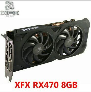 Продаю видеокарту нерабочую RX470 8GB XFX