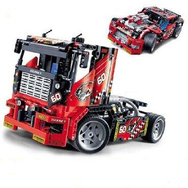 "lego technic volvo l350f в Кыргызстан: Конструктор Lega Decool 3360 ( Lego Technic 42041) ""Гоночный грузовик"""