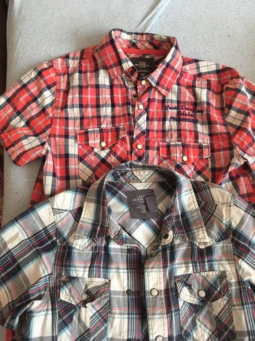 Ostala dečija odeća | Sombor: HM kosuljice za decake vel 160 i 164. Cena za 2 kom je 500 din za 1