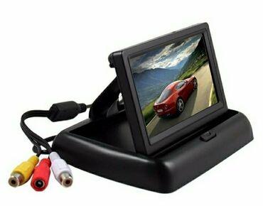 Sklopivi monitor od 4.3 inča, idealan za parking kamere, izvlači se
