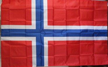 Zastava norveška, dimenzija 150x90cm, nova, upakovana  - Beograd