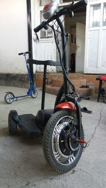 Спорт и отдых - Кызыл-Кия: Электро скутер заводится с помощью ключа заряда хватит на 35км