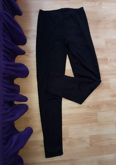 Helanke-jako-atraktivne-za-devojku-kg - Srbija: Crne duboke helanke, par puta nošene, jako lepo očuvane, punije su