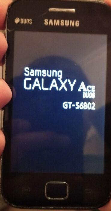 Samsung s6802 - Azərbaycan: Samsung Galaxy Ace Duos Gt-S6802 model satılır 40 AZN heç bir problemi