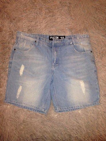 Продаю новые фирменные джинсовые шорты,размер 28-29 цена 300 в Бишкек