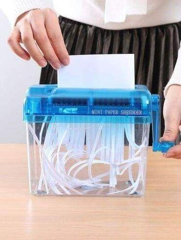 Kućne potrepštine - Arandjelovac: Mini ručni rezač za papirSamo 1.390 dinara.Porucite odmah u InboxMini