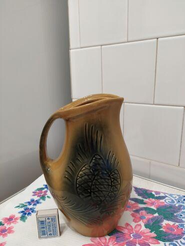 Кувшин керамика советский 180сом тел