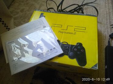 games ps1 в Кыргызстан: Sony Playstation 2,продаю, всё родное.как новый