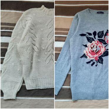 Ženska džemperi - Srbija: Dva dzempera za jednu cenu. Veličina M. Bez oštećenja su, kao novi su