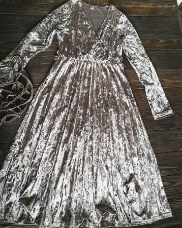 Платье из мокрого бархата. Размер в Бишкек