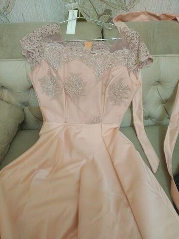 100 elan | ŞƏXSI ƏŞYALAR: Платье длинное розовое -50 аз
