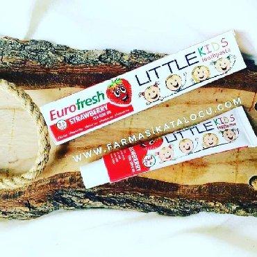 Personalni proizvodi | Palic: Eurofresh Little Kids 50 gr  Pasta za zube, za decu od 3 do 7 godina,u