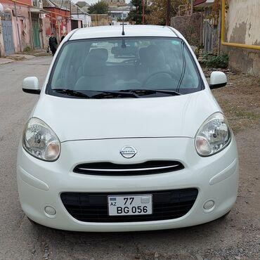 10562 elan   NƏQLIYYAT: Nissan March 1.2 l. 2013   45000 km