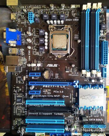 Продаю игровой Комплект.Материнская плата Asus Z 77 V LXПроцессор i5