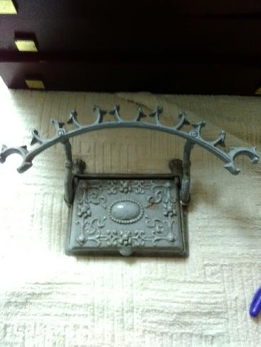 Jastuce za pecate, od kovanog gvozdja, veoma kvalitetne izrade - Pozarevac