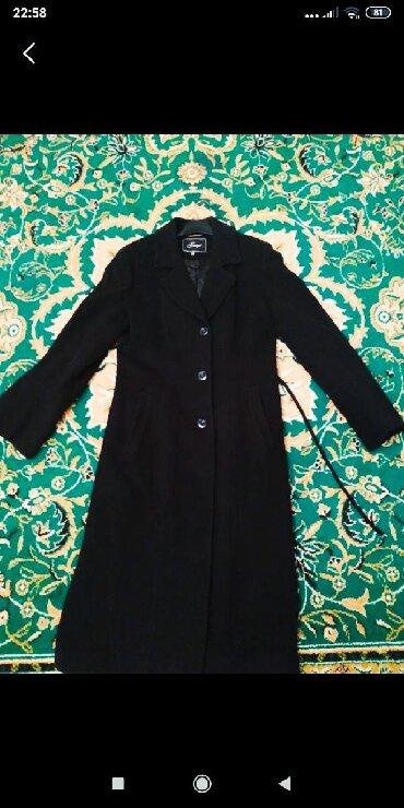 Пальто - Кок-Ой: Продаю турецкое кашемировое пальто, длина закрывают колени.Размер 44-