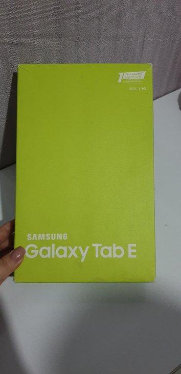 Чехлы для планшетов asus - Кыргызстан: Продаётся планшет Samsung Galaxy Tab E со всеми документами и с коробк