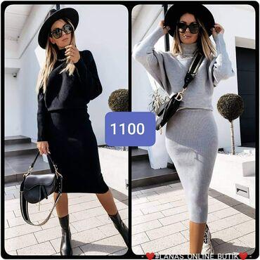 Veci izbor haljina S m l Siva, crna bordo maslinastaa