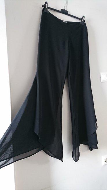 Παντελονα ασύμμετρη απο μουσελινα φορεμενη για μερικές ώρες σε Salamina