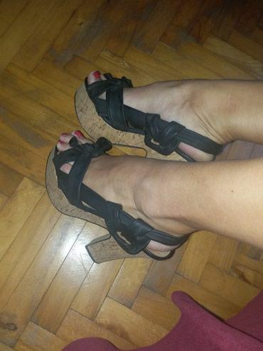Crne sandale 37 broj - Kraljevo