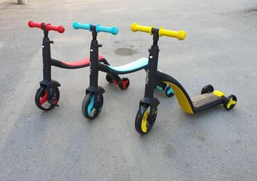 Беговел самокат велосипед 3в 1