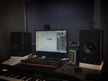 студия звукозаписи комплектация в Кыргызстан: ERK studio   Студия аранжировки и звукозаписи «ЭРК» Сделаем все качест