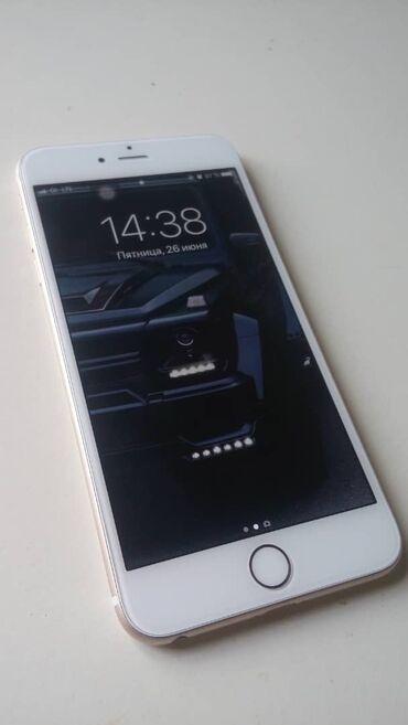 apple-iphone в Кыргызстан: Срочно Продаю айфон 6 plus Память 64гига iD тач работаетiCloud чисть