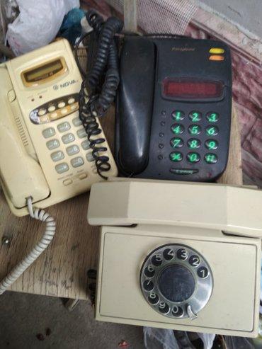 Маленькие-телефоны - Кыргызстан: Телефоны домашние в рабочем состоянии цена по 200с