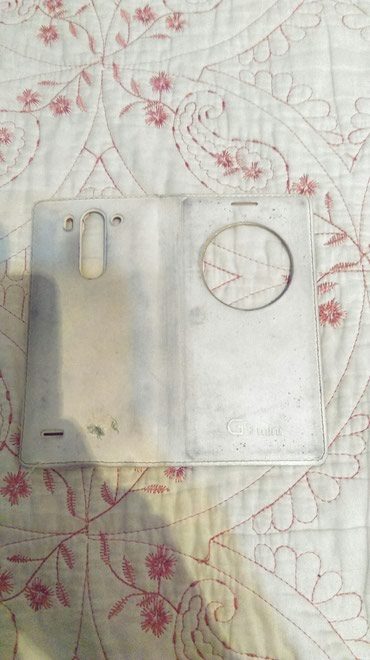 Чехол - книжка белого цвета для телефона LG G3 mini . в Bakı