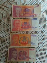 Stari novac iz 90-93-94 maksimalno ocuvan vise komada novcanica. - Batajnica