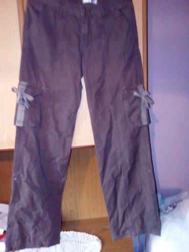 Braon pantalone m - Varvarin