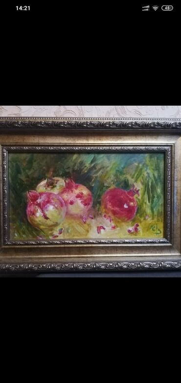 Картина Гранат покупали в аукционе за 3300$