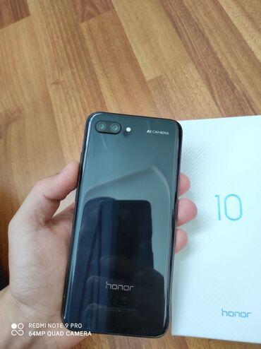 Мобильные телефоны - Базар-Коргон: Honor 10 Col-l29 почти новый всё в идеале в комплекте