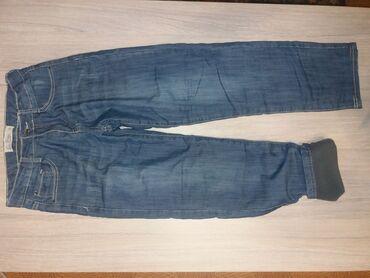Продаю утеплённые флисом тёплые джинсы на мальчика 9-10 лет. Состояние