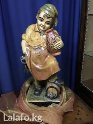 Деревянная статуэтка -скульптурка для украшения дома в Бишкек