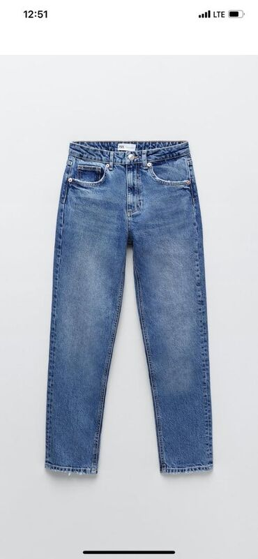 Прямые джинсы by ZaraТолько один размер 34Брала себе, не подошел