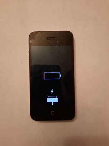 чехол iphone 8 в Азербайджан: Б/У iPhone 4 8 ГБ Черный