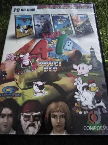 Knjige, časopisi, CD i DVD | Zrenjanin: 4 in 1 Četiri igrice za PC