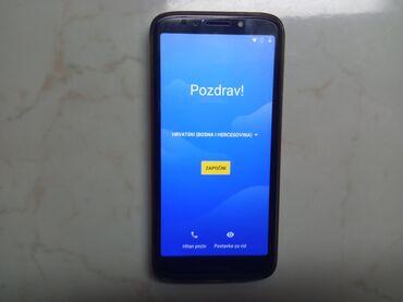 Motorola e5 pley kupljena u Telenoru od prvog dana korišćena maska i