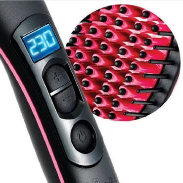 Hot Simply Ceramic Electric Digital Control antiscaled brush fast hair - Subotica